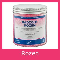 Badzout  Rozen - 300 gram -  Set van 6 stuks