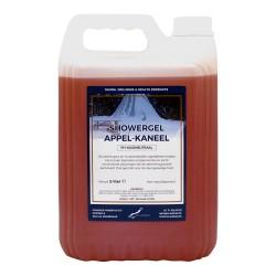 Claudius Showergel Appel-Kaneel - 5 liter