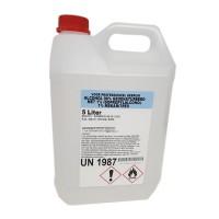 Alcohol 96% gedenatureerd met IPA, MEK en Bitrex - 5 liter
