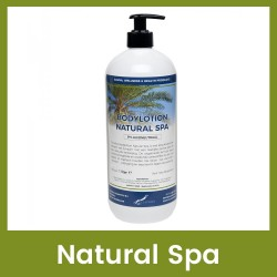 Claudius Bodylotion Natural Spa - 1 liter