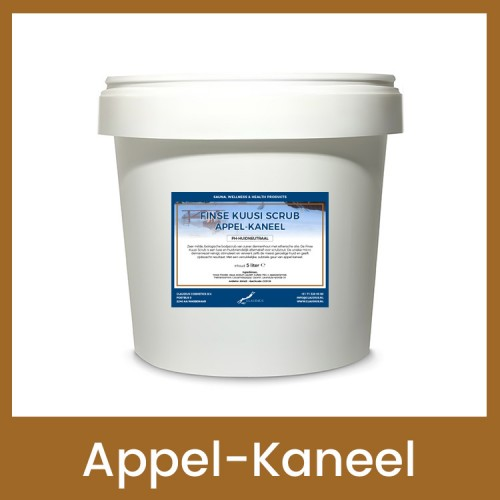 Claudius Finse Kuusi Scrub Appel-Kaneel - 10 liter