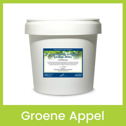 Claudius Finse Kuusi Scrub Groene Appel - 30 liter