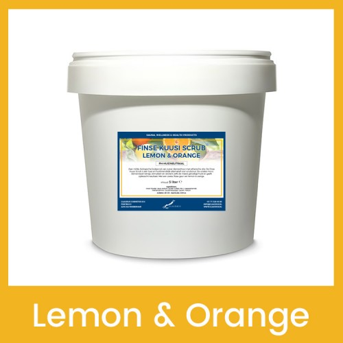 Claudius Finse Kuusi Scrub Lemon & Orange - 30 liter