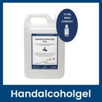 Handalcoholgel 70% - 5 liter