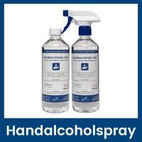 Handalcoholspray 70% Spraykop + Dop - 500 ml