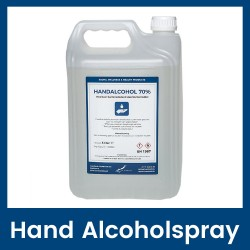 Hand Alcoholspray 70%  - 5 liter