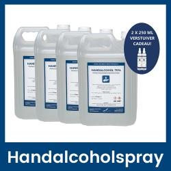 Handalcoholspray 70% - 4 x 5 liter
