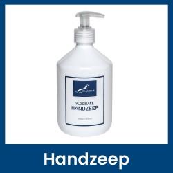 Desinfecterende Handzeep Wit - 500 ml met pompje