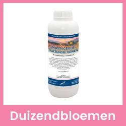 Claudius Massageolie Duizendbloemen - 1 liter