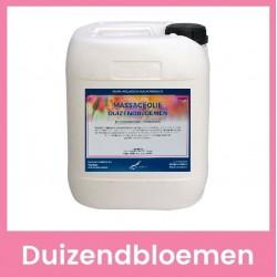 Claudius Massageolie Duizendbloemen - 10 liter