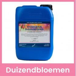 Claudius Massageolie Duizendbloemen - 5 liter