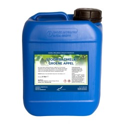 Claudius Stoombadmelk Groene Appel - 5 liter