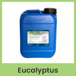 Claudius Stoombadmelk Eucalyptus - 5 liter