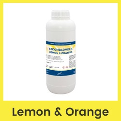 Claudius Stoombadmelk Lemon & Orange - 1 liter