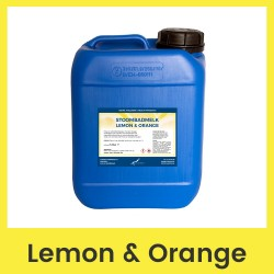 Claudius Stoombadmelk Lemon & Orange - 5 liter