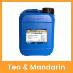 Claudius Stoombadmelk Tea & Mandarin - 5 liter
