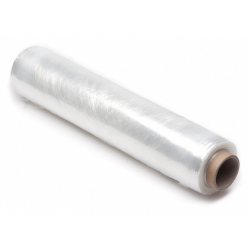 Handwikkelfolie stretchfolie transparant type 20 (19MY) – 300 meter x 50 cm