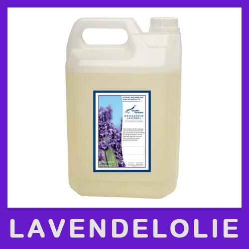 Claudius Massageolie Lavendelolie - 5 liter