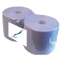 Papier Industrie Rol Blauw - 1027 vellen