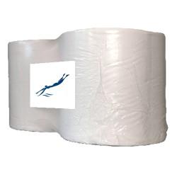 Papier Industrie Rol Wit - 2 rollen