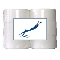 Toiletpapier Mini Jumbo - 486 vellen